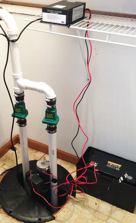 sump pump by DMR Plumbing & Sewer